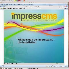 Deutsches Video Tutorial für die Installation von ImpressCMS